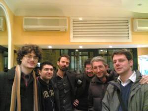 Da sinistra: Lorenzo, Daniele, Domenico, Paolo, Fabio, Paolo R
