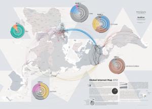 Mappa internet globale 2012