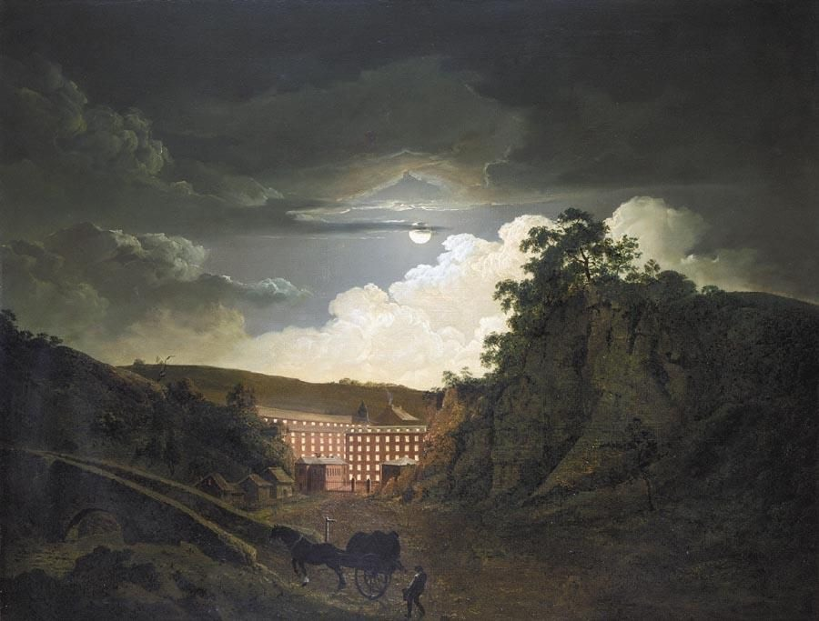 Arkwright's Cotton Mills by Night, Joseph Wright of Derby