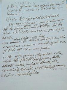 busa lettera manoscritta pag 1 verticale