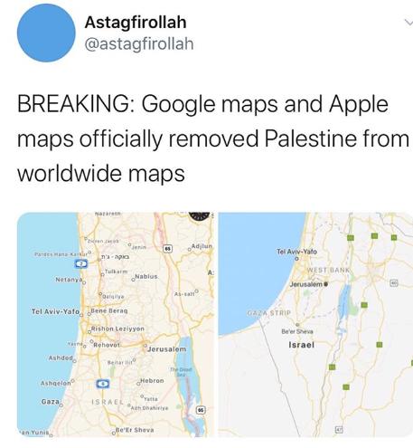 Stato Di Israele Cartina Fisica.Internet In Palestina Repressione Governativa E Censura Di Gafam Infolet