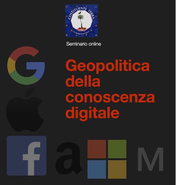 Geopolitica della conoscenza digitale